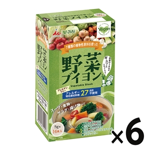 JiAi 野菜ブイヨン(14本入り)×6箱セット